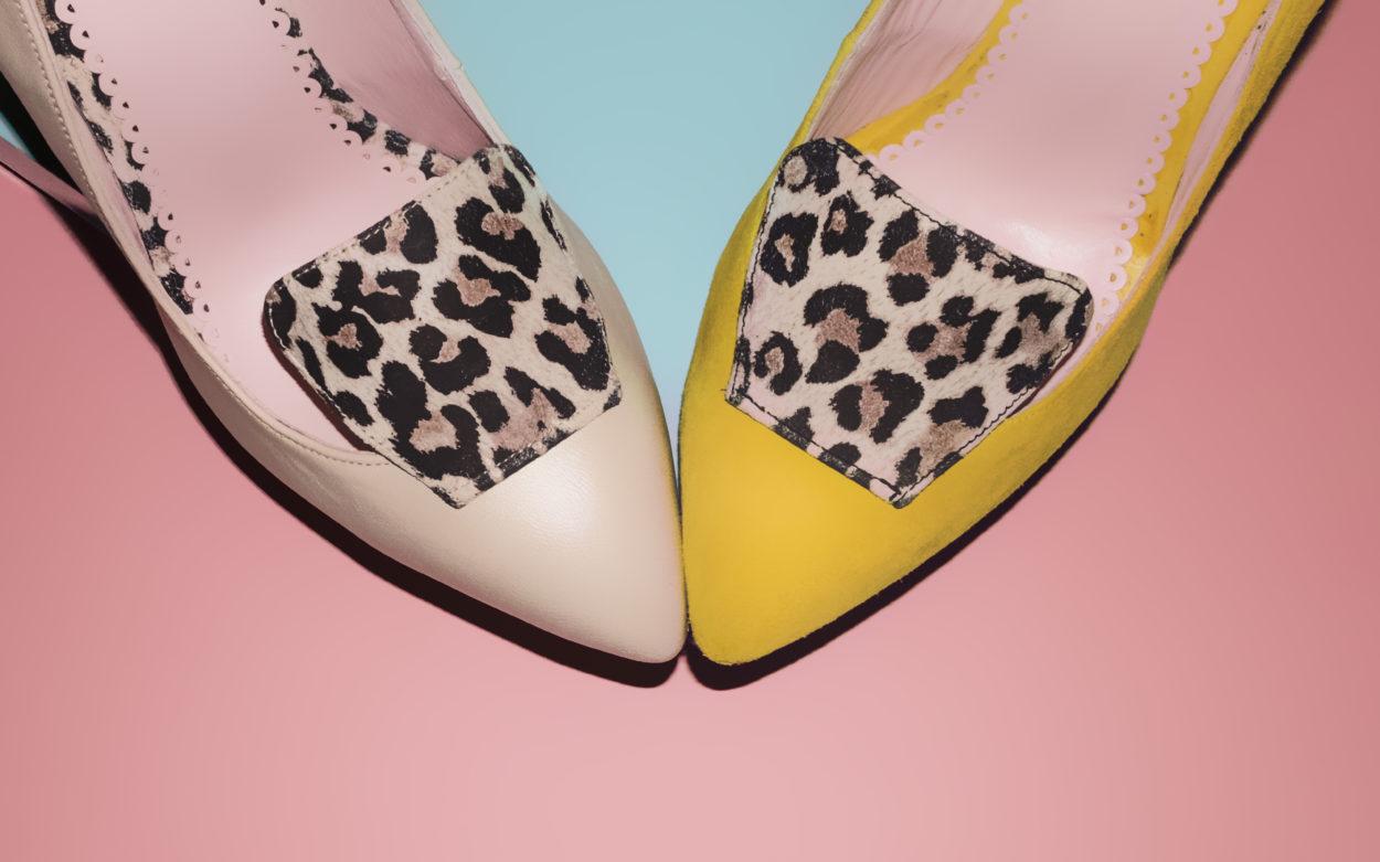 Bodegon siluteado moda zapatos madrid