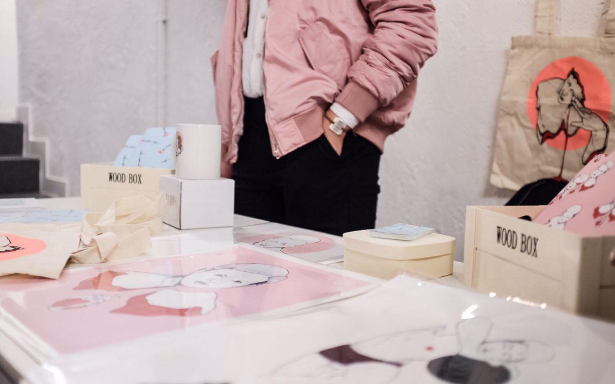 pink evento pop up moda madrid